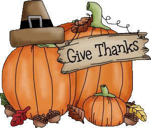 A Thanksgiving List  –  Part 1